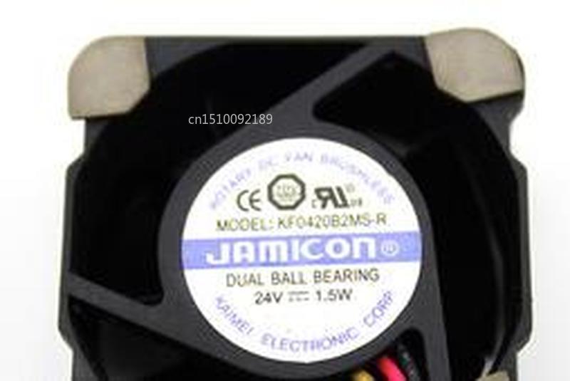 For 4020 4 Cm KF0420B2MS -r 24 V 1.5 W A Cooling Fan 40 * 40 * 20 Mm Free Shipping