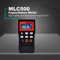 MLC-500 Hohe Präzision Auto Ranging LC Meter Professionelle Kapazität Induktivität Tabelle 500 KHz Kapazität Meter