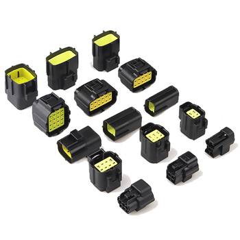 1 set 1/2/3/4/6/8/10/12/16 Pin way Denso 1.8 series Male Female Car Auto Waterproof Wire Connector Electrical Plug 10 pin 1 8mm male and female waterproof electrical plug connector for vw audi etc