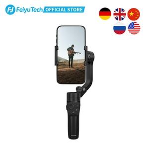 Image 4 - FeiyuTech الرسمية VLOG جيب 2 البسيطة المحمولة الهاتف الذكي Gimbal استقرار selfie عصا ل فون 11 XS XR 8 7 ، هواوي P30 برو