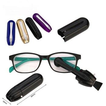 Glasses cleaning brush Cleaner Best Mini Sun Eyeglass Microfiber Brush Tool Clean detailing