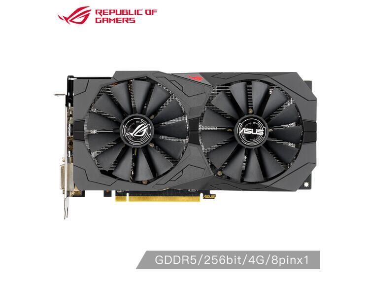 ASUS ROG-STRIX-RX580 2048SP-4G-GAMING 1168-1294MHz 256bit GDDR5 Apex Hero 4G Indie Game Graphics