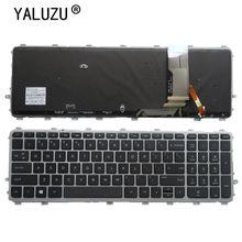 YALUZU חדש אנגלית עם תאורה אחורית מקלדת עבור HP ENVY 17t j000 15 j000ea 15 j003la 6037B0082701 720244 161 17 j184na 17 j184nr