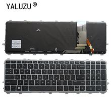 YALUZU New English Retroilluminato Tastiera per HP ENVY 17t j000 15 j000ea 15 j003la 6037B0082701 720244 161 17 j184na 17 j184nr