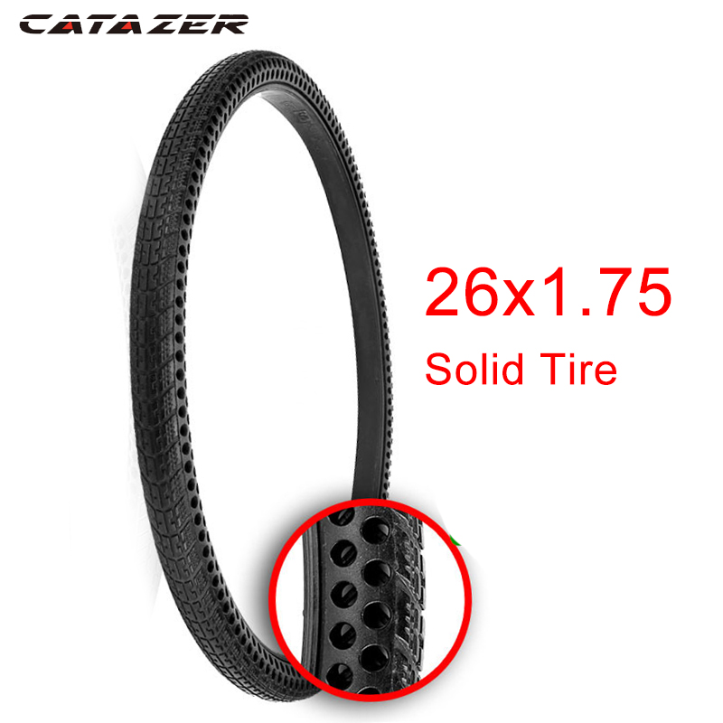 1pc MTB Solid 24 X1 3//8  Bicycle Solid Tire Road Fixed Gear Bikes Tire Tube PU