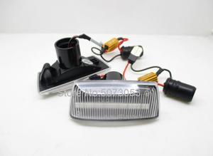 Image 2 - Indicador lateral dinámico LED para coche, luz intermitente secuencial para Opel Insignia Astra H Zafira B Corsa D, Chevrolet Cruze, 2 uds.