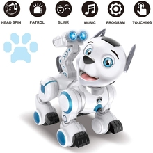 C5AF Remote Control Robotic Dog RC Interactive Intelligent Walking Dancing Programmable Robot Puppy Toys Electronic Pets