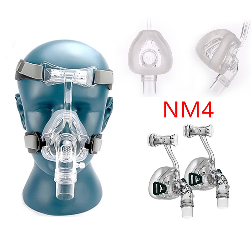 Full Face CPAP Mask Auto with Adjustable Headgear Strap Clip for Sleep Apnea Patient 23
