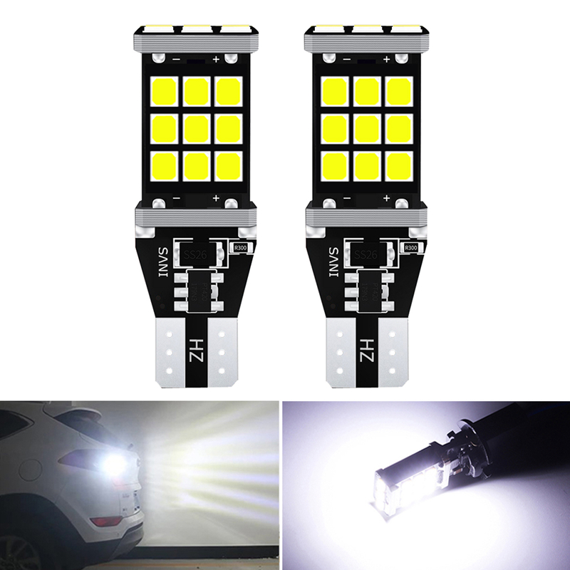 2x T16 T15 W16W Canbus LED Backup Reversing Light for <font><b>Mazda</b></font> <font><b>CX</b></font>-<font><b>5</b></font> <font><b>CX</b></font> <font><b>5</b></font> 2016 2015 <font><b>2014</b></font> 2013 Accessories Auto Lamp 912 921 LED Bulb image
