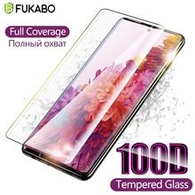Закаленное стекло 100D для Samsung A51, Защитная пленка для экрана Note 20 Ultra 10 Lite Galaxy S20 FE A50 A71 S10 Plus S10E A11 A70 A20 A01 S21 A31 A41 A10 защитное стекло защитная для эк...