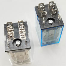 цена на Mini Relay LY2NJ Coil DC12V DC24V AC110V AC220V HH62P JQX-13F10A 220V Miniature Electromagnetic General Purpose Relay