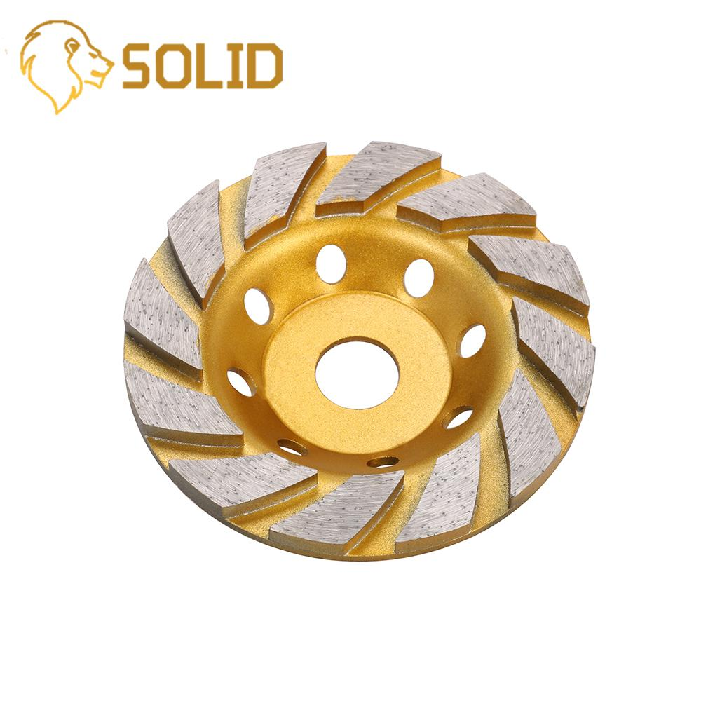 125mm Diamond Grinding Wheel Disc Bowl Shape Grinding Cup For Concrete Granite Stone Ceramics Cutting 1Pc