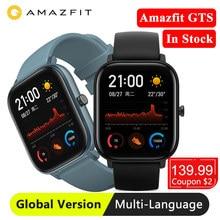 Huami Amazfit GTS Global Version Smart Watch GPS Smartwatch Sleep Tracking 5ATM Waterproof Swimming Heart Rate
