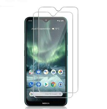 Перейти на Алиэкспресс и купить Премиум Защита экрана для Nokia C2 Tennen/C2 Tava/1,3/5,3/C2/2,3/7,2/6,2 закаленное стекло 9H 2.5D Высокое качество Защитная крышка