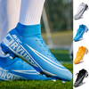 Soccer Shoes Men Football Boots 2021 Turf Cleats Soccer Boots Teenager Ankle High Tops Kids Indoor Training Sneaker