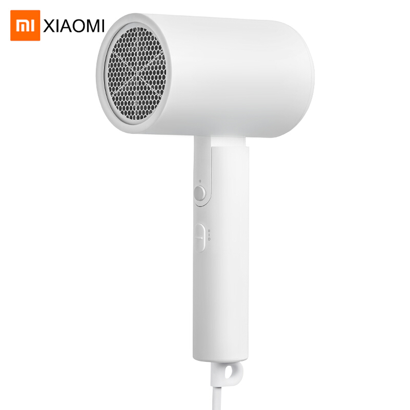 XIAOMI MIJIA Portable Hair Dryer Negative Ion Hair Blow Dryer Salon Class Care Hair Blower With Foldable Handle Quick Drying