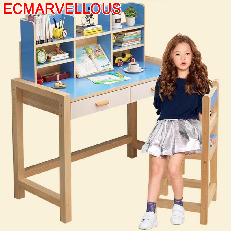 Dzieci Pupitre Infantil Tavolino Mesa De Estudio Toddler Scrivania Bambini Adjustable For Bureau Enfant Kinder Kids Study Table