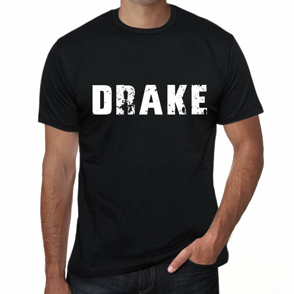 Drake Herren T Shirt Schwarz Geburtstag Geschenk 00553 Round Neck Best Selling Male Natural Cotton Shirt Top Tee image