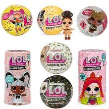 2019 New Big Glitter Unpacking Dress Original LOL Dolls Surprise Toy Educational Novelty For Kids Birthday Christmas Gift