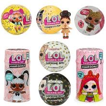 2019 New Big Glitter Unpacking Dress Original LOL Dolls Surprise Toy Educational