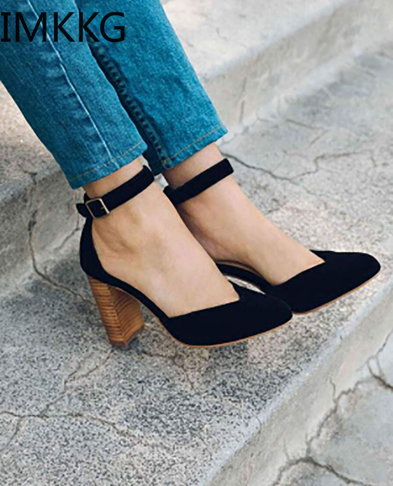 H85146549151f44b2acc18350643861adj New Arrival 2019 women's sandals Women Summer Fashion Leisure Fish Mouth Sandals Thick Bottom Slippers wedges shoes women F90084