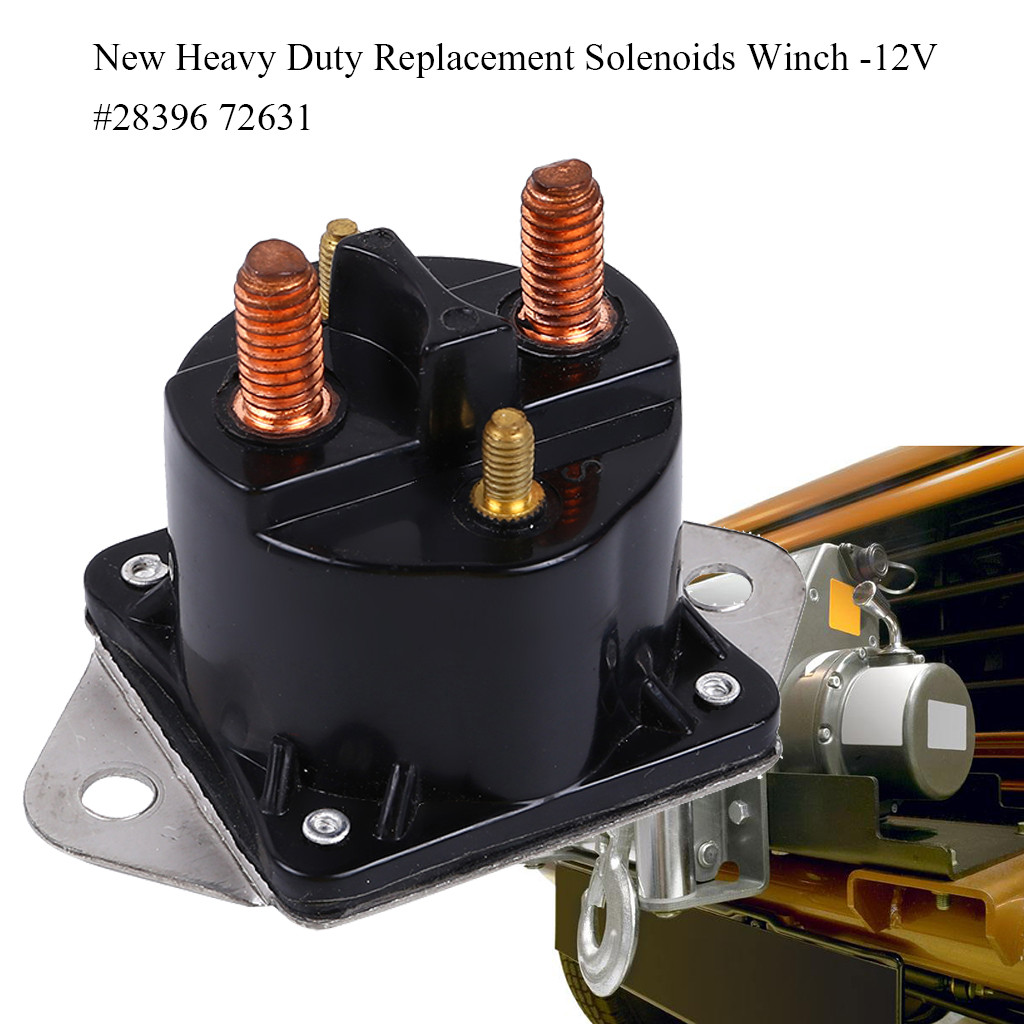 NEW Warn 72631 Replacement Solenoid Each  28396 Winch Relay FREE SHIPPING