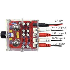 Image 2 - HiFi 6J1 przedwzmacniacz lampowy wzmacniacz zarządu klasy A Pre Amp kryształ powłoki