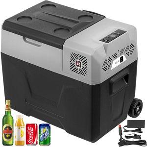 30L 40L 50L Portable Car Fridge Freezer Cooler Mini Auto Refrigerator 12V/24V 220V Dual Using Compressor With App Control