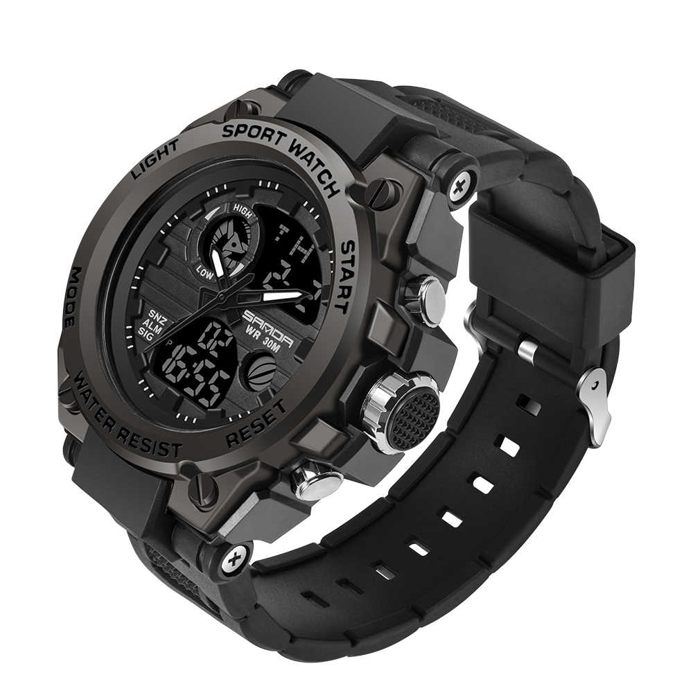 SANDA 739 orologi sportivi da uomo orologio al quarzo militare di lusso delle migliori marche orologio da uomo impermeabile S Shock orologio da uomo relogio masculino 2020