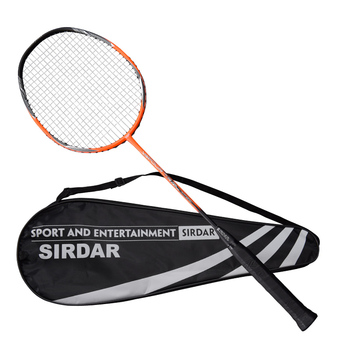SIRDAR Ultralight 4U Strung Badminton Racket Professional 24lb-26lb full Carbon Badminton Racquet With carry case