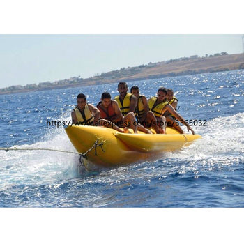 High Quality Cheap Inflatable Boat/Inflatable Flying Fish Banana Boat/Inflatable Banana Boat for Sale 0 9mm pvc tarpaulin 6 seat version inflatable floating flying fish towable tube inflatable water game flyfish banana boat