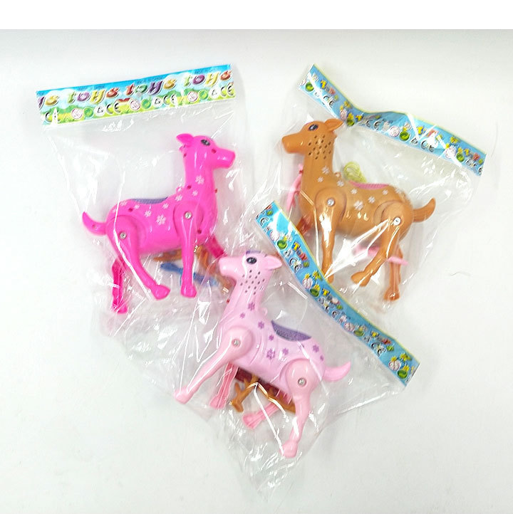 Hot Selling Shining Deer Electric Leash Sika Deer Bracing Wire Concert Walk Square Stall Toy