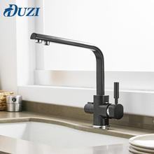 цена на Brass Kitchen Faucet 360 Degree Rotation With Water Purification Mixer Water Sink Mixer Tap Hot and Cold Water Kitchen Faucet