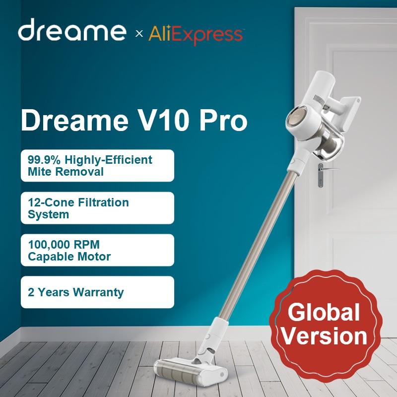 Ручной беспроводной пылесос Dreame V10 Pro, 450 Вт, 22000 па, циклонный фильтр【V10PRO14】