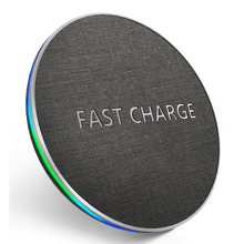 GETIHU 10 Вт Быстрое Qi Беспроводное зарядное устройство для iPhone 11 Pro X Xs Max Xr 8 Plus Беспроводная зарядная подставка для samsung S11 Note 10 9 Wirless