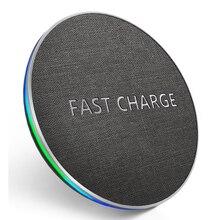 GETIHU 10W Qi chargeur sans fil rapide chargeur sans fil pour Samsung S11 S10 Note 10 9 8 pour iPhone 11 Pro X Xs Max Xr 8plus