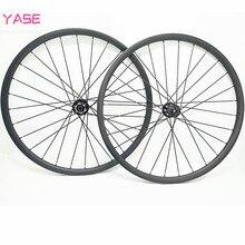 YASE 29er углеродная mtb Колесная 35x25 мм бескамерная Аро 29 колесо горного велосипеда boost NOVATEC D791SB D792SB 110x15 148x12 велосипедные дисковые колеса