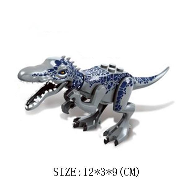 Jurassic World Indominus Rex Figure Dinosaur Figure Animal Building Block Kids