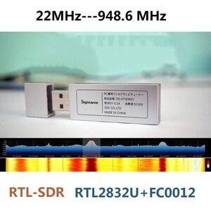 22MHz-945MHz RTL2832U+FC0012 UV HF RTL-SDR USB Tuner RTLSDR USB dongle With RTL2832u RTL SDR Receiver H127