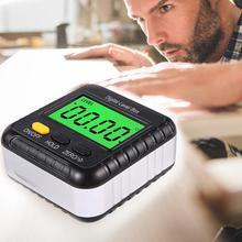 New Magnetic Digital Level Box Bevel Gauge Protractor Inclinometer Woodworking Measuring Tool