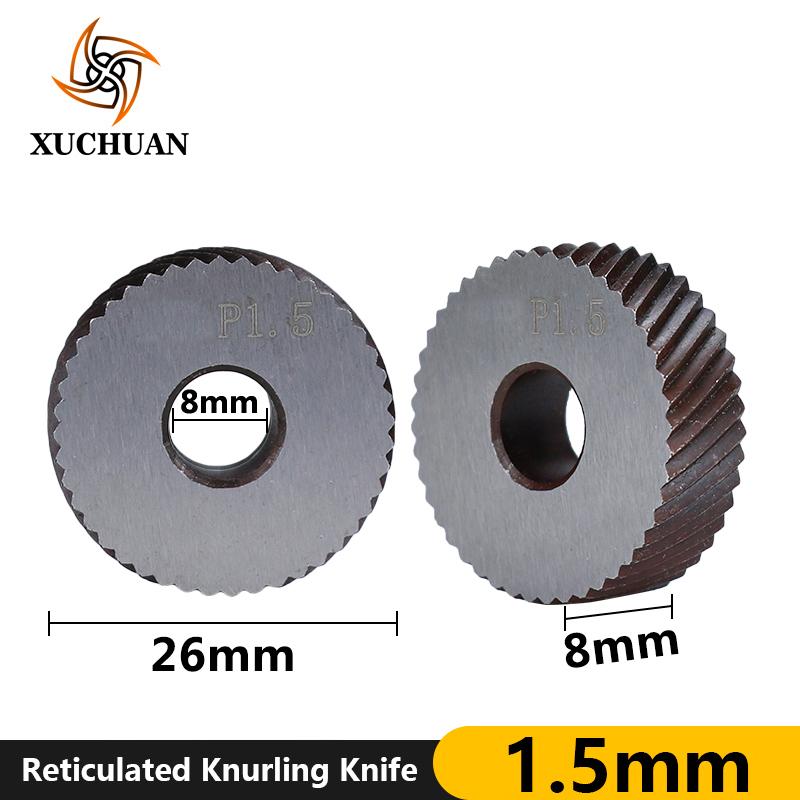 1.5mm Lathe Knurling Reticulated Knurling Wheel Inner Hole Embossing Wheel Reticulated Knurling Knife Knurling In Lathe