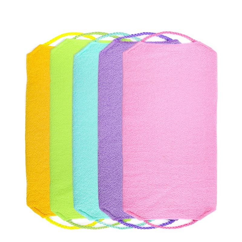 Easy To Use Bath Cloth Exfoliating Remove Dead Skin Soften Skin Cleansing Skin Magic Shower Scrubs Cloth