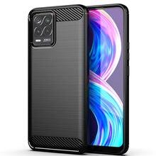 Para oppo realme 8 pro caso para oppo realme 8 pro capa armadura à prova de choque silicone macio protetor telefone pára para realme 8 pro