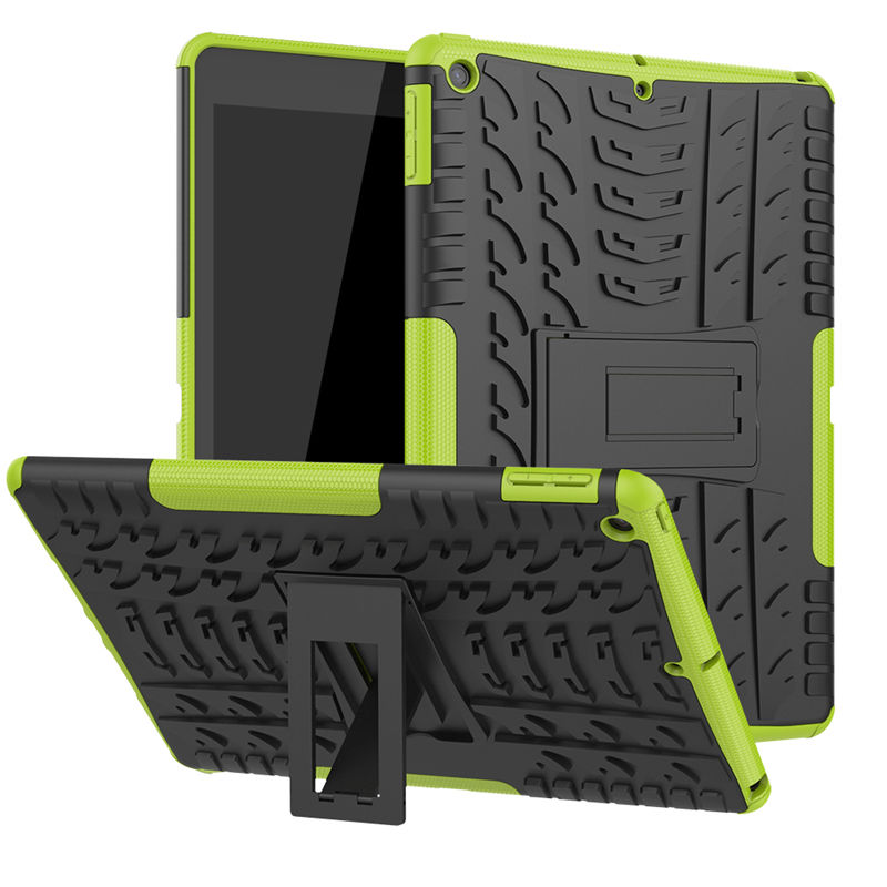 Green Green Tablet Shell for IPad 10 2 7 Generation Case A2200 A2198 A2232 Cover Silicon Plastic 2