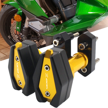 CNC Motorcycle Falling Protection Frame Slider Fairing Guard Crash Pad Protector Motor For Kawasaki Z800 Z 800 Z-800 2013-2016