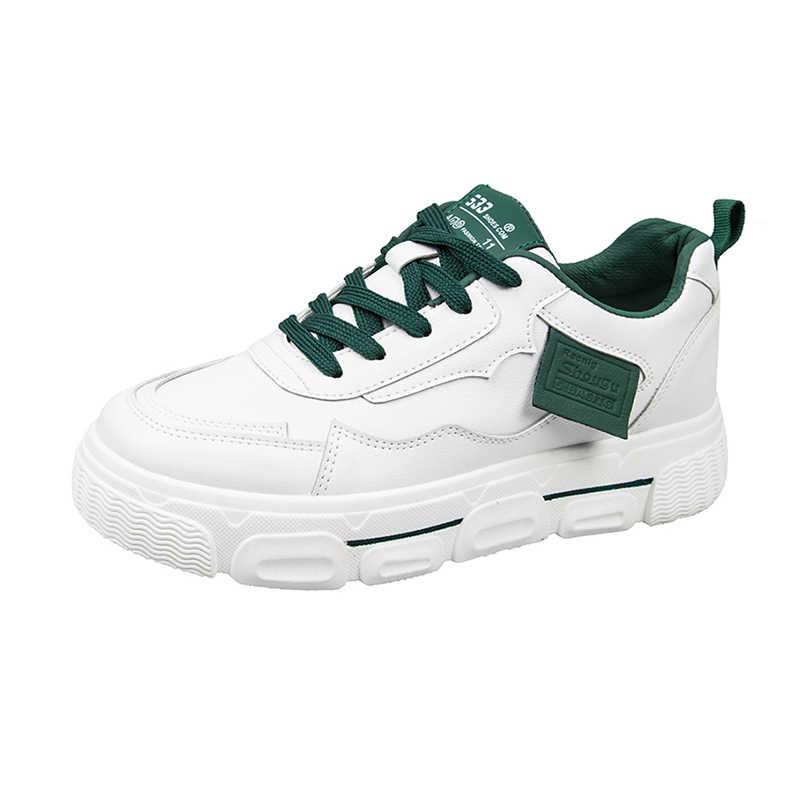 2020 รองเท้าผู้หญิงรองเท้าคุณภาพรองเท้าผ้าใบคุณภาพสูงกันกระแทกแพลตฟอร์มBreathable Filasรองเท้าZapatos De Mujer 35-40
