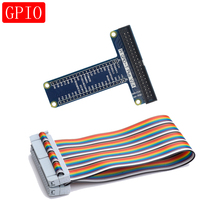 Raspberry Pi 3 GPIO Extension Board T Typ GPIO Bord mit 40 Pin GPIO Kabel für Raspberry Pi 4 3 modell B 4B 3B 3 B Plus B +