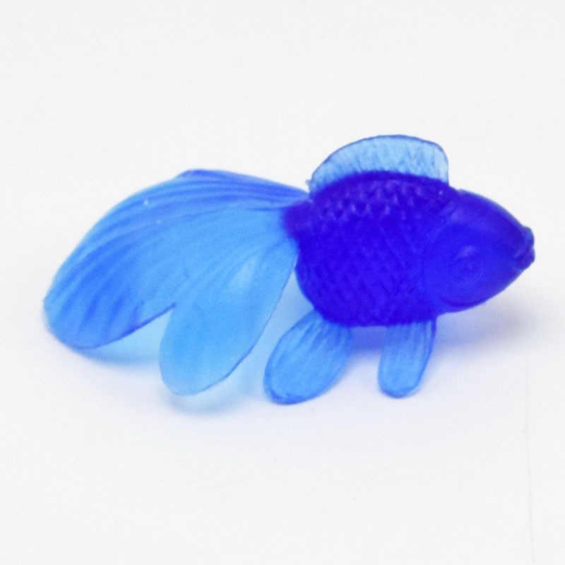 10 шт./партия, мягкие резиновые золотые рыбки, Детские Игрушки для ванны, маленькие пластиковые Имитационные маленькие золотые рыбки, водные игрушки, веселые детские игрушки для плавания, пляжные игрушки