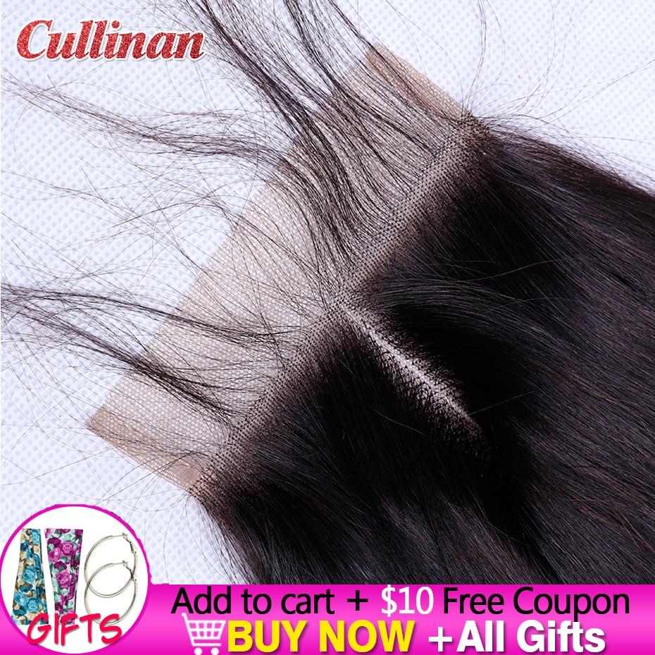 Прямая застежка из человеческих волос на шнуровке 4x4, швейцарская кружевная свободная цепочка с тремя частями, куллинан, Реми, естественный ...