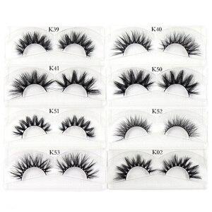 Image 5 - AMAOLASH Eyelashes Mink Eyelashes Thick Natural Long False Eyelashes 3D Mink Lashes High Volume Soft Dramatic Eye Lashes Makeup
